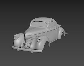 Willys Coupe 1939 Body For Print car