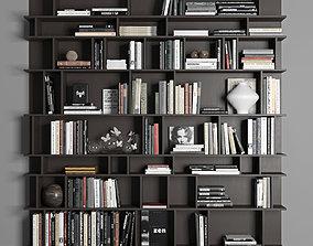 Cattelan Wally Bookcase 3D