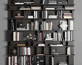 Cattelan Wally Bookcase 3D