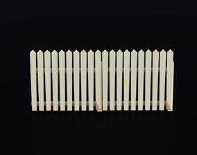 3D model Fence 01