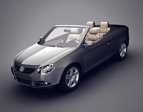 3D Volkswagen Eos convertible