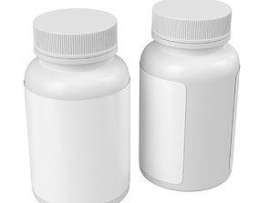 3D model Medical Bottle