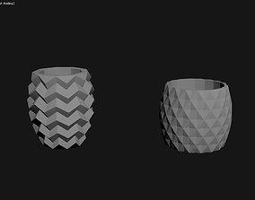 3D Printed Planter Plant Pot Plant Vase 142