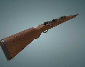3D asset Karabiner k98 rifle