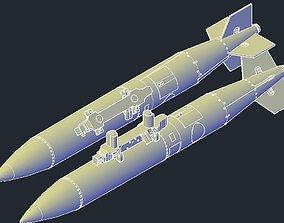 Revell B1B Lancer MPRL B61-12 3D printable model