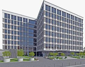 3D asset Office Building 01