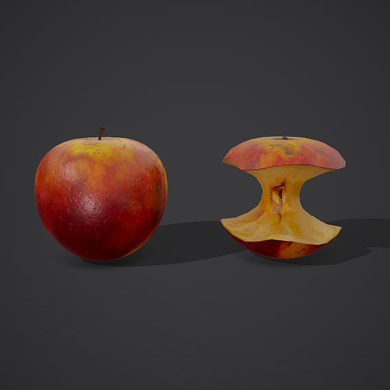 apple and apple core