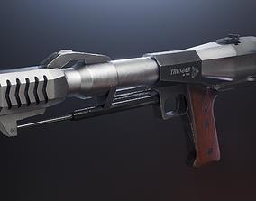 3D asset Triple Action Thunder 50 BMG