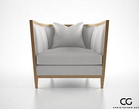 3D model Christopher Guy Seurat armchair