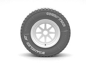 3D tread wheel
