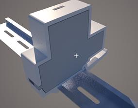 Node MCU DIN rail case 3D print model