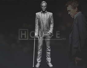 MD Gregory House 3D printing ready stl obj formats