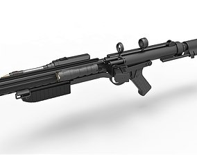 Mudtrooper Blaster rifle E-10 from Solo A Star Wars 3D 1