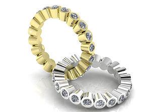 Infinite Diamond Ring 3D print model