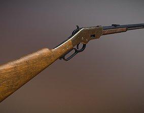 3D asset 1866 Winchester