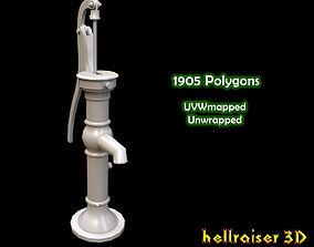 3D asset Water Pump