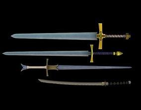 Sword Pack 3D asset