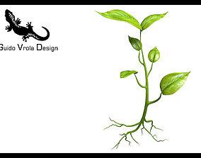 3D model Small plant design