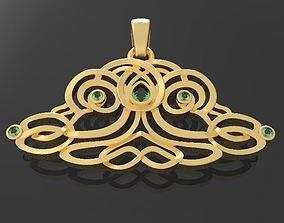 3D print model Pendant tree of life