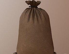3D asset Military Sandbag