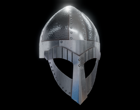 Viking Helmet Spangenhelm 2 3D model