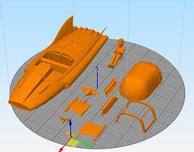 supercar Mike Mercury gerry anderson 3D printable model