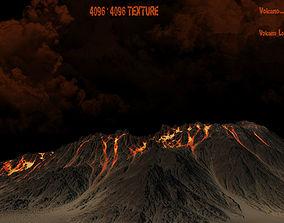 Volcano 3D asset VR / AR ready
