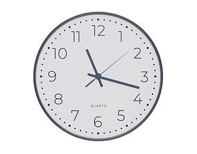 3D Modern Decorative Wall Clock v1