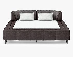 De Sede Double Beds 3D asset