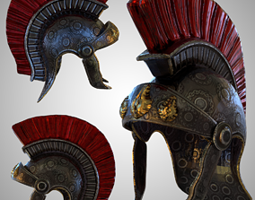 Roman Helmet Empire 3D model
