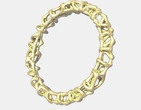 3D print model Ring 56 Skeleton