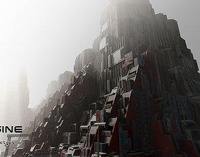 3D asset Cyberpunk Builds