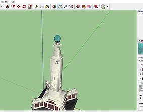 3D print model Naval memorial Portsmouth-UK