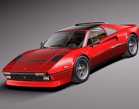 3D model Ferrari 308 GTB GTS 1975-1984