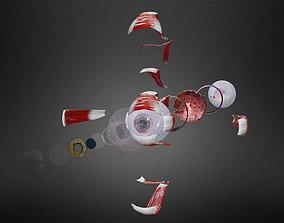 Eye system 3D asset