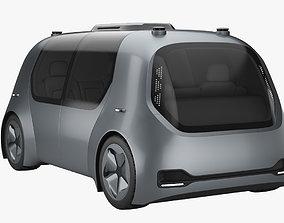 3D model Self-Driving Shuttle Concept