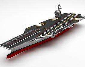 f-22 Aircraft carrier 3D model
