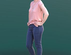 Svenja 10523 - Standing Casual Girl 3D asset