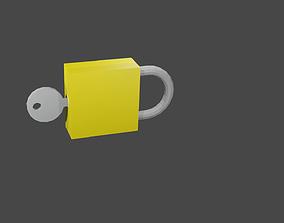 padlocks 3D