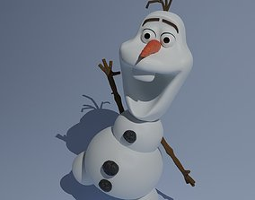 rigged 3D Model of Olaf