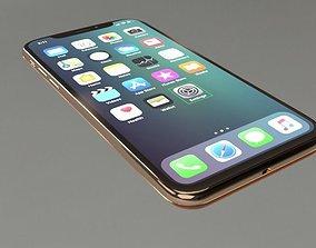 Apple iPHONE X mac 3D model