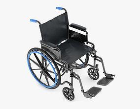 Medical Wheelchair 3D model