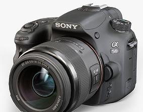 Sony SLT-A58 Kit DT 18-55mm f 3-5 5-6 SAM II Lens 3D model