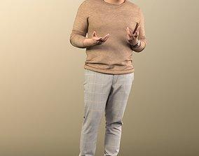 3D 11012 Sahir - Man standing casual explaining pullover