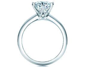 engagement ring tiffany 3D print model