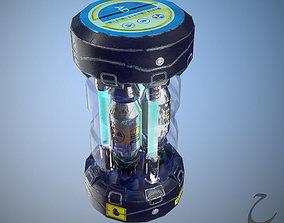 3D model Sci-Fi Grenade 01