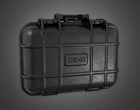 3D asset Equipment Hard Case 01 HLW - PBR Game Ready