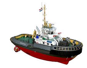 Tugboat ASD 2810 Damen 3D