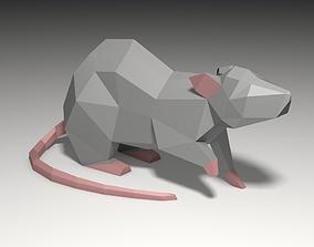 mouse 3D print model 3d