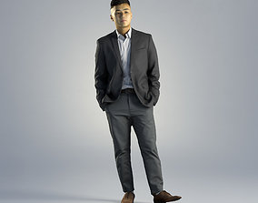 Man Kevin Business Standing 002 3D